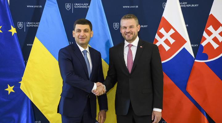 між Україною і Словаччиною було укладено розширену угоду