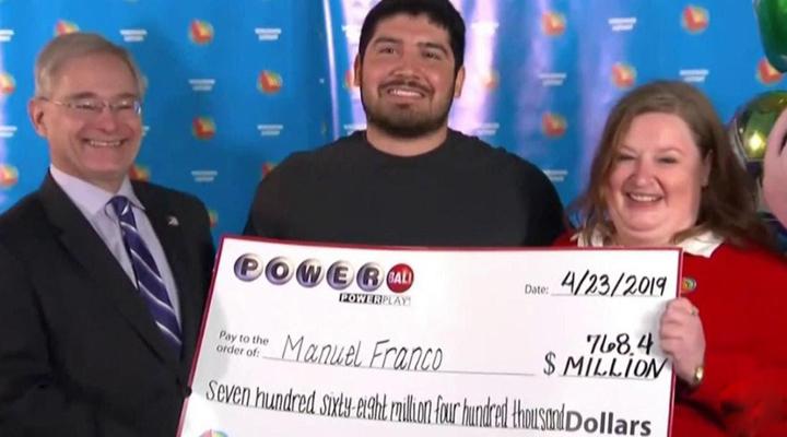 виграш в лотерею в 768 мільйонів доларів