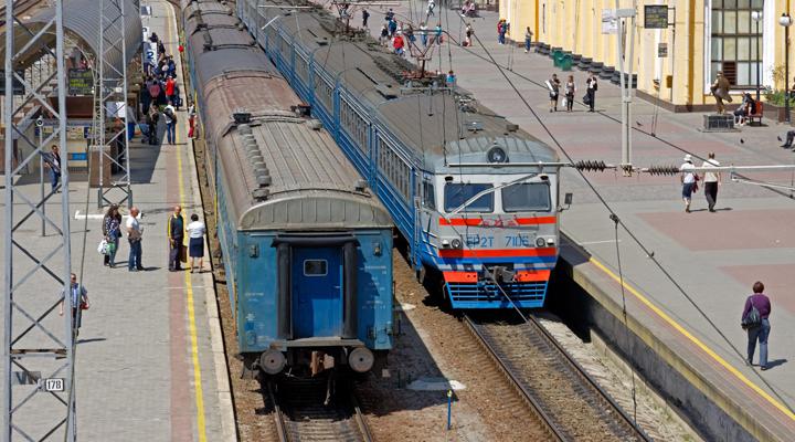 залізничне сполучення між Україною і Росією