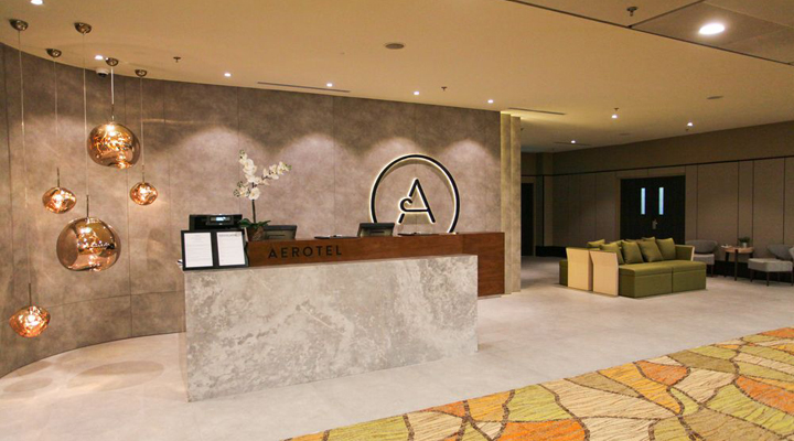 готель, що примикає до аеропорту Сінгапуру