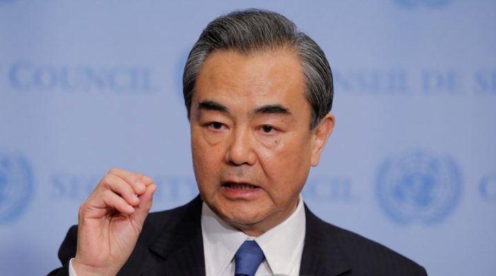міністр закордонних справ Китаю Ван І