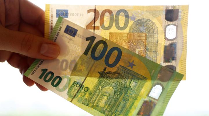 нові купюри 100 і 200 євро