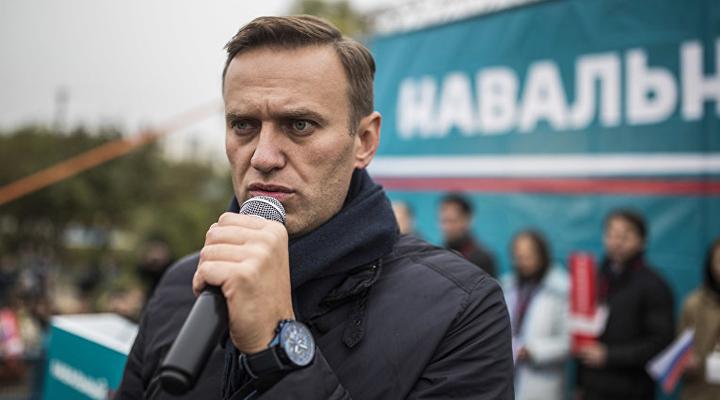 один из лидеров российской оппозиции Алексей Навальный