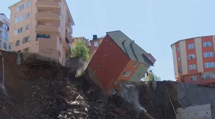 зсув - катастрофа в Туреччині