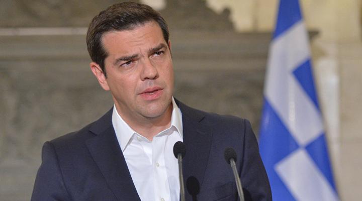 премьер-министр Алексис Ципрас