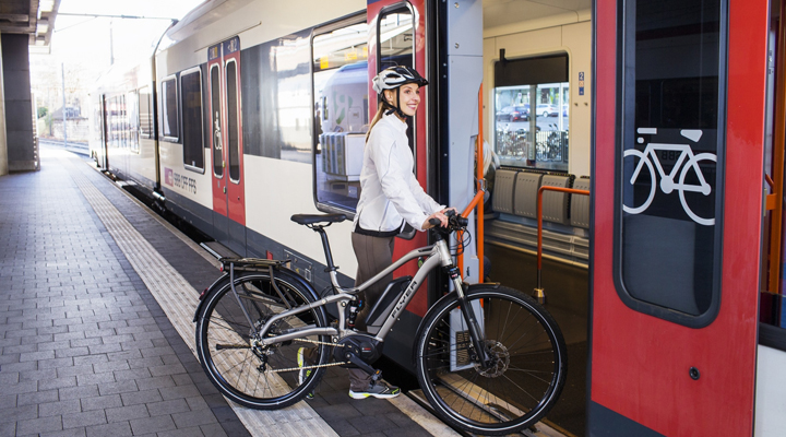 провоз велосипедов на поездах «Интерсити» и «Интерсити+»