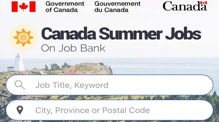 вакансии на лето для студентов в Канаде через приложение Job Bank