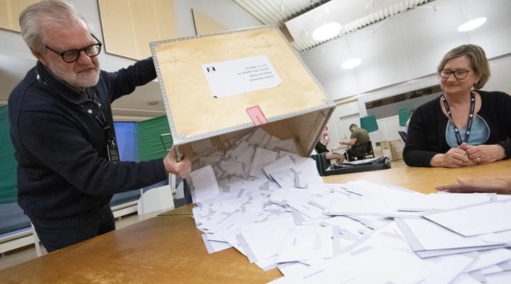 выборы в Европарламент в Швеции