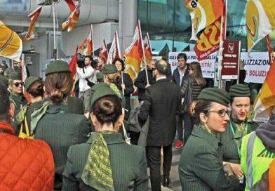 забастовка работников авиаотрасли Италии