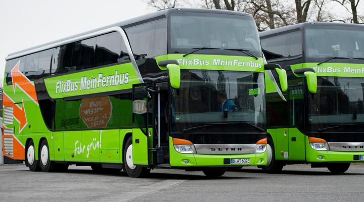 автобусная компания FLIXBUS