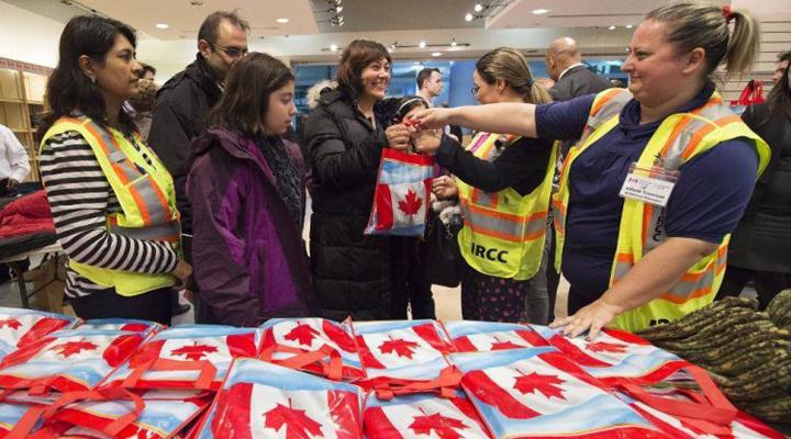 біженці в Канаді