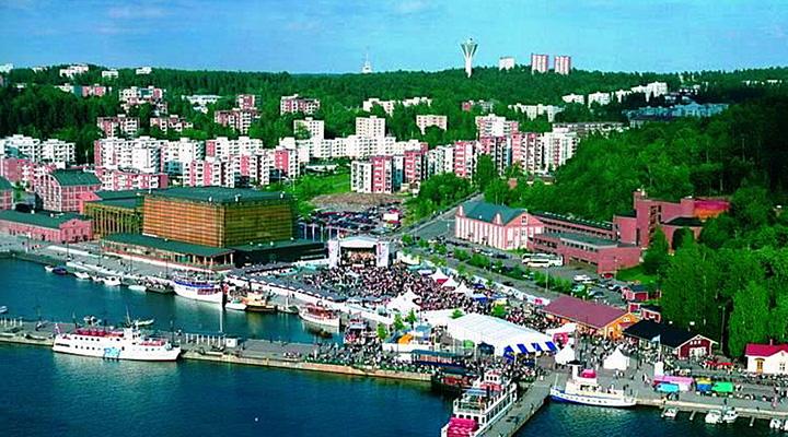 финский город Лахти - самый «зеленый» город Европы