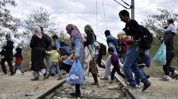 кількість біженців колосально