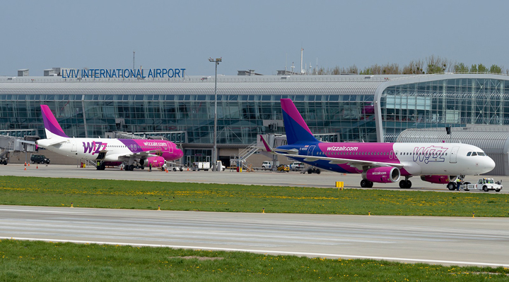 лоукостер Wizz Air увеличит частоту рейсов из Львова