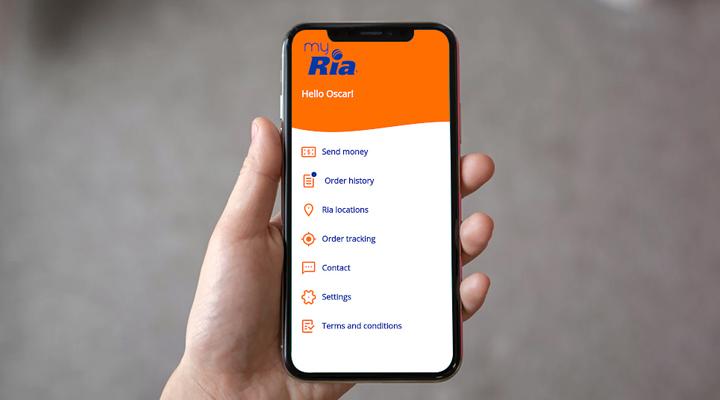 мобільний додаток My Ria