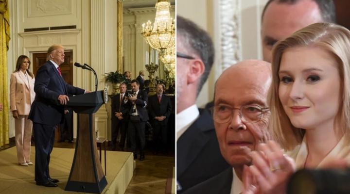 на вечірці в Білому Домі