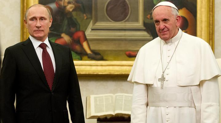 Папа Римський і Путін