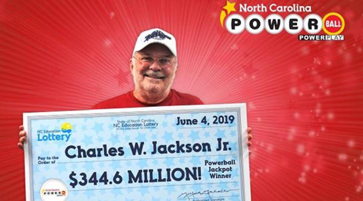 переможець лотереї Powerball Чарльз Джексон