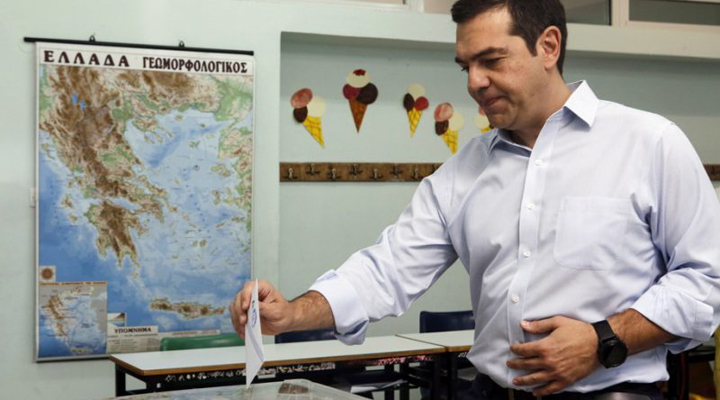посол Греции в Берлине Алексис Ципрас
