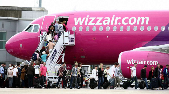 снова выросла прибыль авиакомпании Wizz Air
