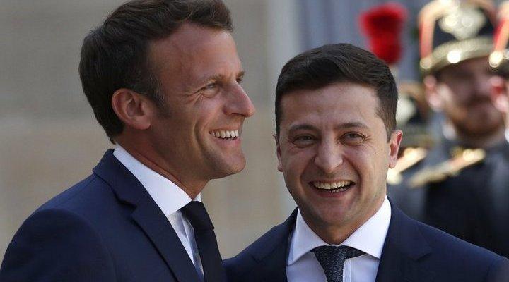 Встреча президентов Украины и Франции