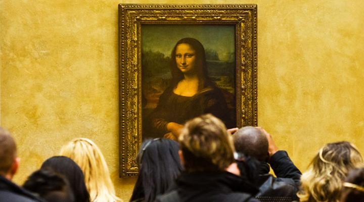 знаменитая «Мона Лиза»