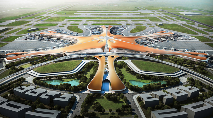 аэропорт «Дасин» в Китае