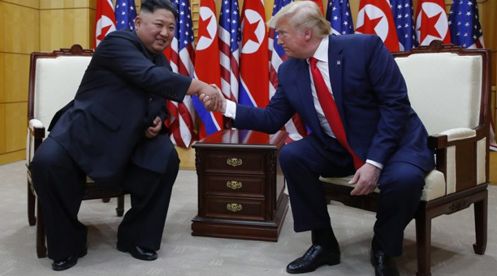 Дональд Трамп і Кім Чен Ун