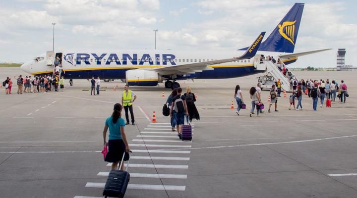 ирландский лоукостер Ryanair