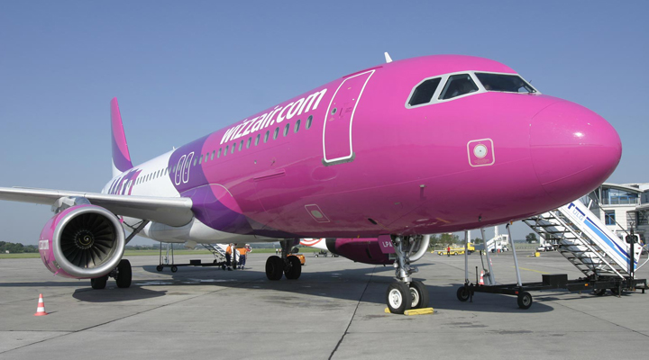 компанія Wizz Air тимчасово змінить «будинок»