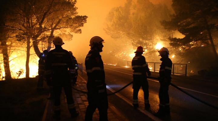 лісові пожежі в Хорватії