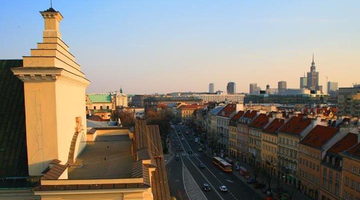 маршрут «Королівський тракт» у Варшаві