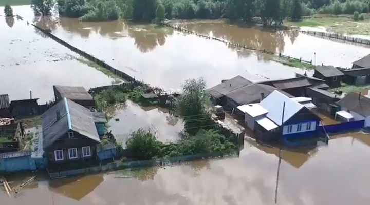 повінь в Іркутській області