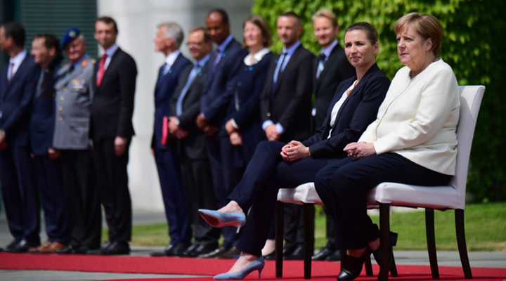прем'єр-міністр Данії і канцлер Німеччини