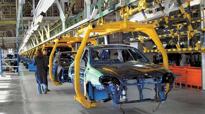 , зниження обсягу промислового виробництва в машинобудуванні