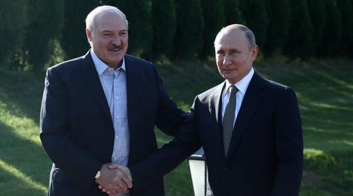 зустріч Олександра Лукашенка і Володимира Путіна