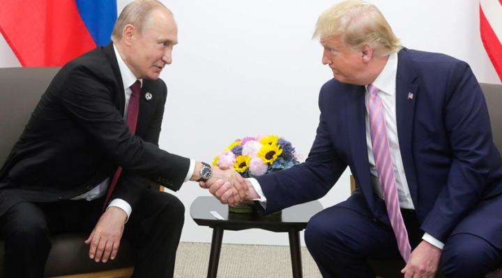 зустріч Володимира Путіна з Дональдом Трампом