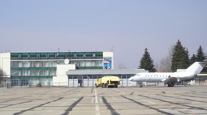 запорізький аеропорт нарощує пасажиропотік