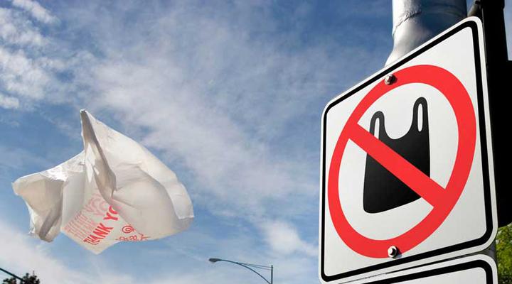 заборона на використання пластикових пакетів