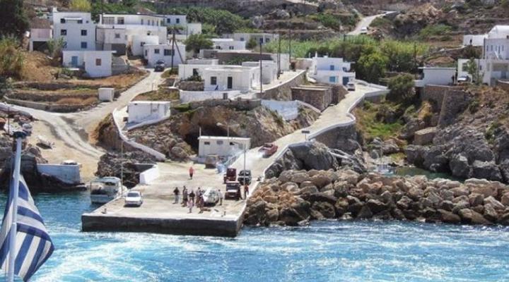 заселение острова Антикитера в Греции