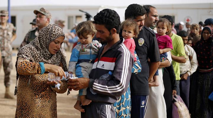 біженці з Сирії