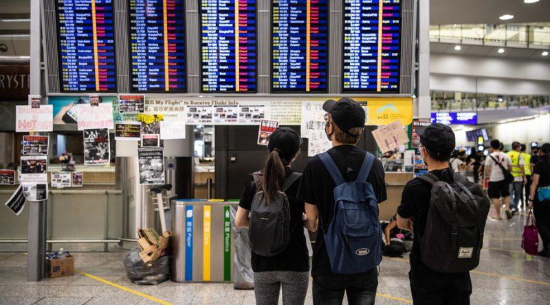 демонстранти залишили аеропорт Гонконгу