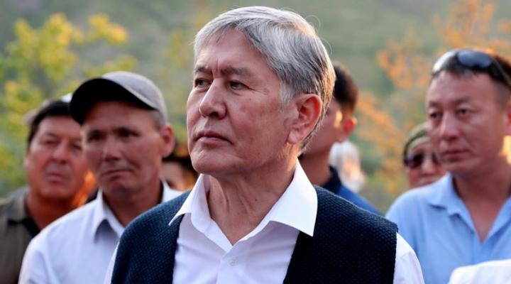 екс-президент Киргизстану Алмазбек Атамбаєв