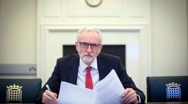 лидер лейбористов Джереми Корбин
