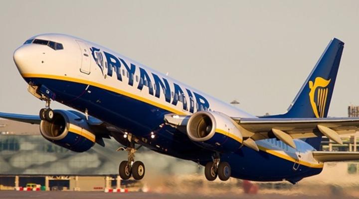 лоукостер Ryanair оголосив про значне збільшення частоти рейсів з України