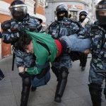 Масові арешти в Росії. В руках поліції 352 протестуючих