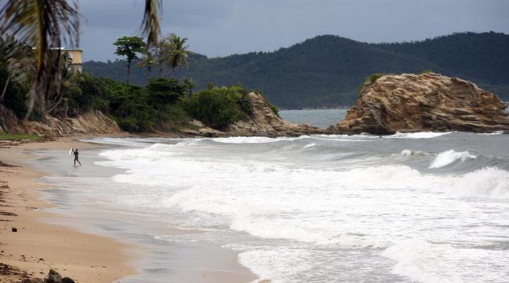 острова, оказавшиеся на пути урагана