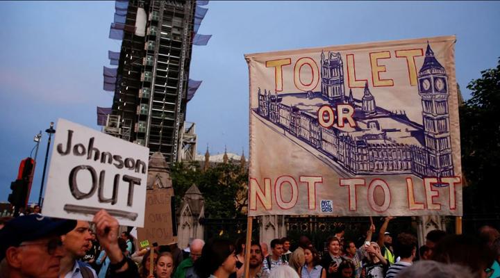 петиція проти припинення роботи парламенту в Англії