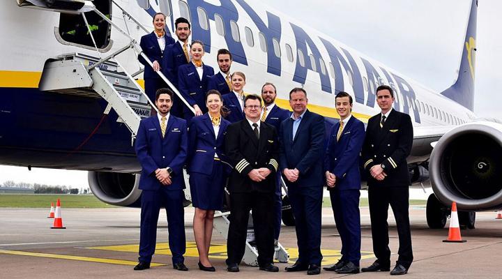 пилоты лоукостера Ryanair готовятся к проведению забастовки