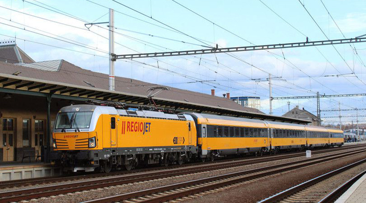 потяг компанії RegioJet